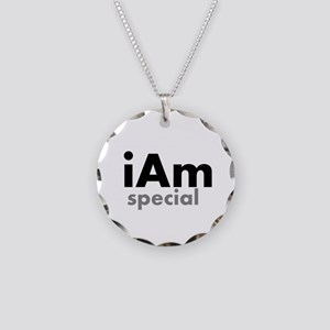 iAm Special Merchandise Necklace Circle Charm