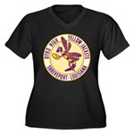 Byrd High Yellow Jackets Women's Plus Size V-Neck
