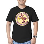 Byrd High Yellow Jackets Men's Fitted T-Shirt (dar