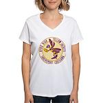 Byrd High Yellow Jackets Women's V-Neck T-Shirt