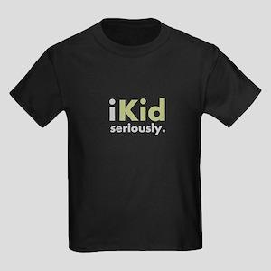 iKid Shirts & Merchandise Kids Dark T-Shirt