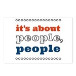 it's about people, people Postcards (Package of 8)