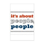 it's about people, people Mini Poster Print