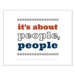 it's about people, people Small Poster
