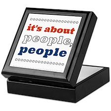 it's about people, people Keepsake Box