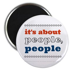 it's about people, people Magnet