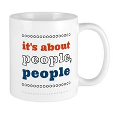 it's about people, people Mug