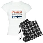 it's about people, people Women's Light Pajamas