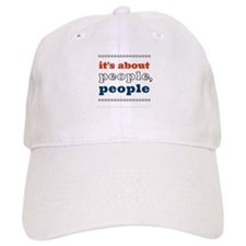 it's about people, people Cap