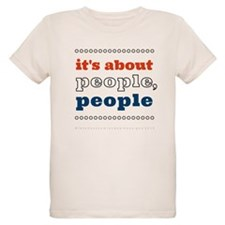 it's about people, people Organic Kids T-Shirt
