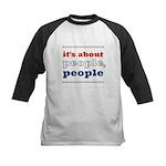 it's about people, people Kids Baseball Jersey