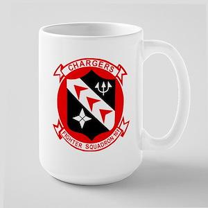 VF 161 Chargers Large Mug