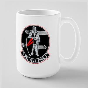 VF 154 Black Knights Large Mug