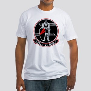 VF 154 Black Knights Fitted T-Shirt