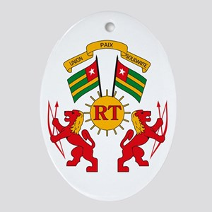 Togo Coat of Arms Oval Ornament