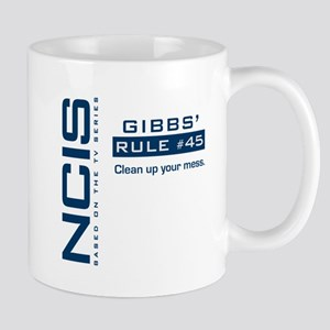 NCIS Gibbs' Rule #45 Mug
