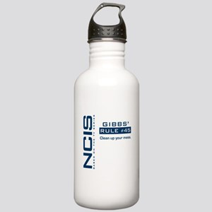 NCIS Gibbs' Rule #45 Stainless Water Bottle 1.0L