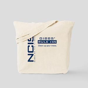 NCIS Gibbs' Rule #45 Tote Bag