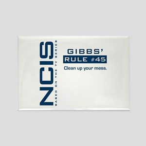 NCIS Gibbs' Rule #45 Rectangle Magnet
