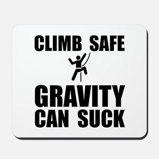 Climb Safe Mousepad