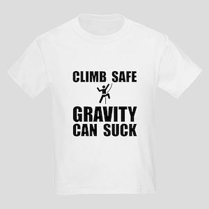 Climb Safe Kids Light T-Shirt