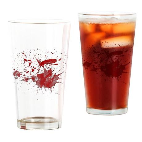 Splat Drinking Glass