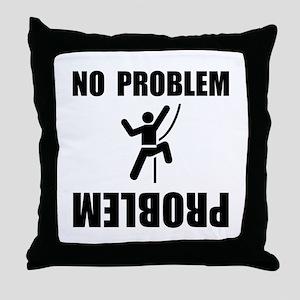 Climbing Problem Throw Pillow