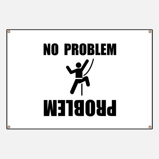 Climbing Problem Banner