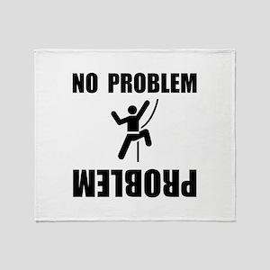 Climbing Problem Throw Blanket