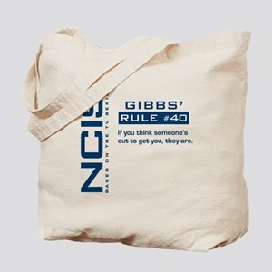 NCIS Gibbs' Rule #40 Tote Bag