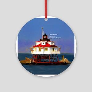 Thomas Point Lighthouse Chesapeake Bay Ornament