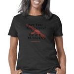 not Ganrgters just Russian Women's Classic T-Shirt