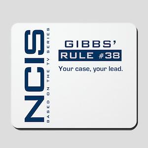 NCIS Gibbs' Rule #38 Mousepad