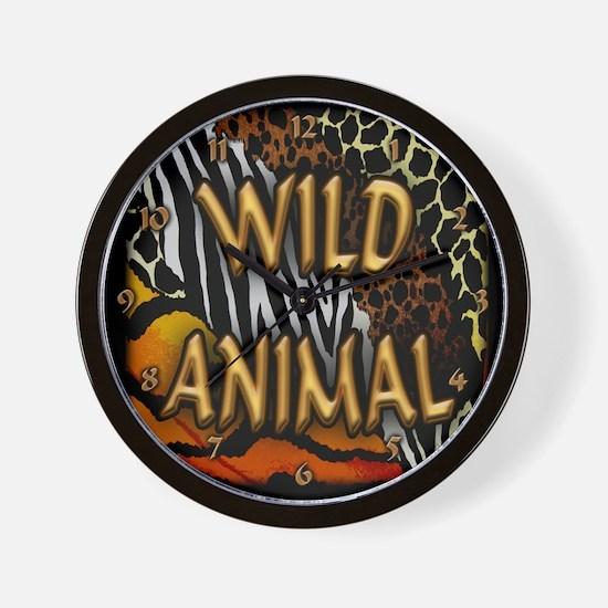 Cute Jungle safari Wall Clock