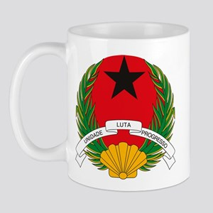 Guinea Bissau Coat of Arms Mug