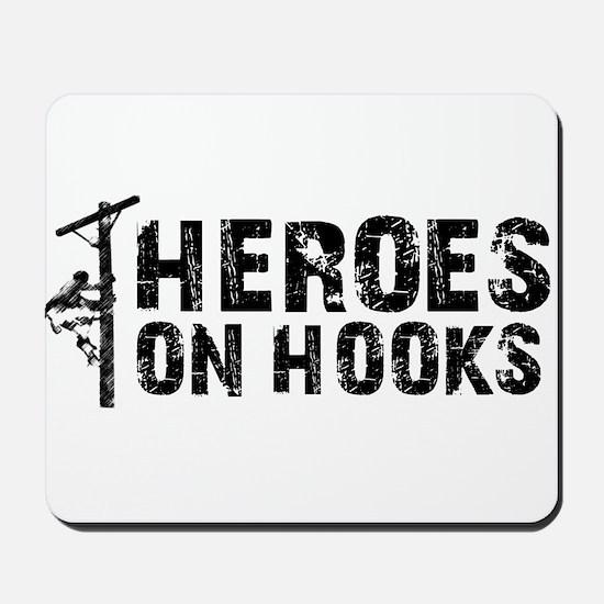 Heroes On Hooks Mousepad