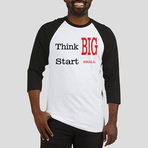 Think Big Baseball Jersey