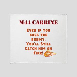 M44 Carbine Throw Blanket