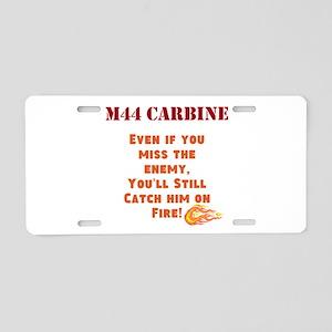 M44 Carbine Aluminum License Plate