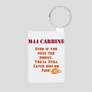 M44 Carbine Aluminum Photo Keychain