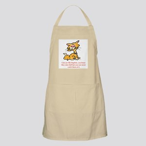 Cats & Baptists BBQ Apron