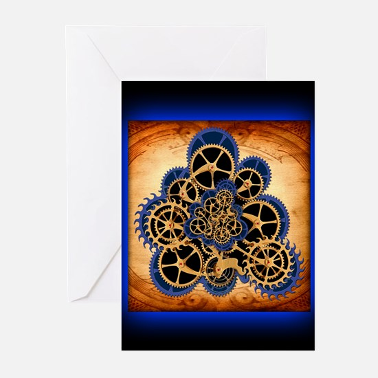 Unique Steampunk Greeting Cards (Pk of 10)