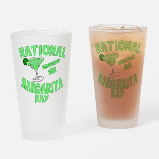 National Margarita Day Drinking Glass