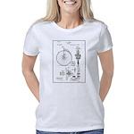 Bicycle Patent Print 1887 Women's Classic T-Shirt