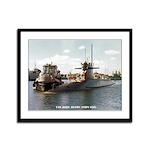 USS JOHN ADAMS Framed Panel Print