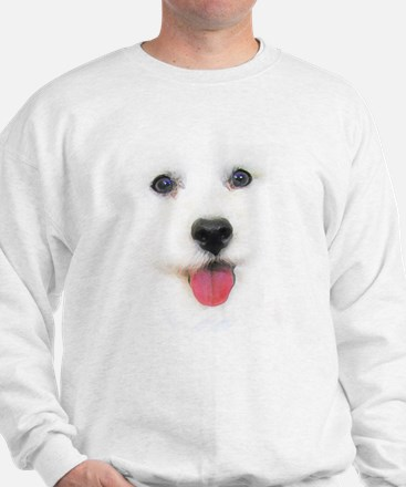 Bichon face Sweatshirt