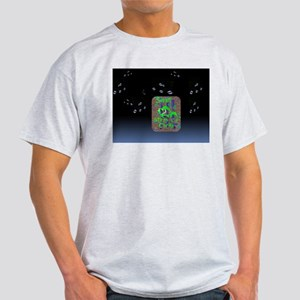 Light T-Shirt Silent in His Steps