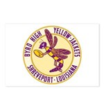 Byrd High Yellow Jackets Postcards (Package of 8)