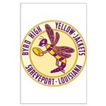 Byrd High Yellow Jackets Large Poster