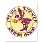 Byrd High Yellow Jackets Small Poster